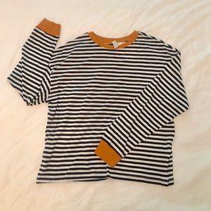 H&M striped top - NWT
